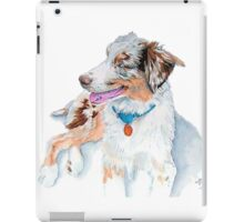 Australian Shepherd Matrix iPad Case/Skin