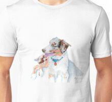 Australian Shepherd Matrix Unisex T-Shirt