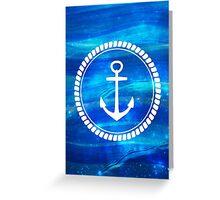 Magical Sea Anchor Greeting Card