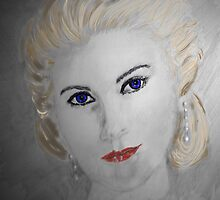 Grace Kelly Portrait No 2 by Trish Loader