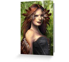 Daughter of Leda Greeting Card