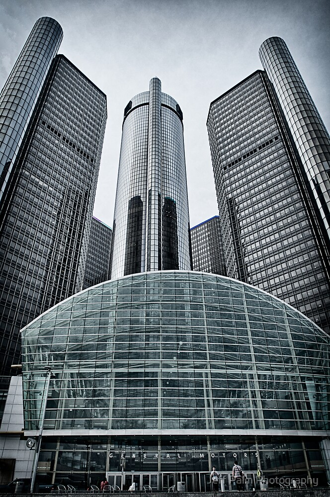 GM Headquarters, Detroit MI by Jeff Palm Photography