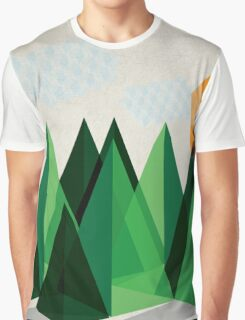 Geo-graphic Graphic T-Shirt