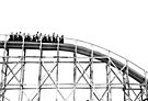 Luna Park Roller Coaster Ride by Melissa Dickson