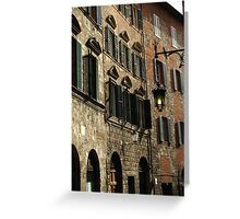 Siena street Greeting Card