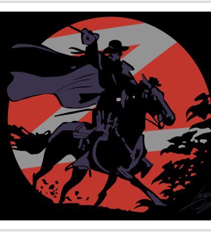 Zorro Sticker