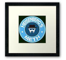 Heisenberg's Meth Framed Print