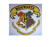 Harry Potter Hogwarts Crest Photographic Print