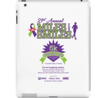 """Miles for Smiles"" Gotham City 5k Charity Run iPad Case/Skin"