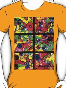 """Window of Flowers"" by Chip Fatula T-Shirt"