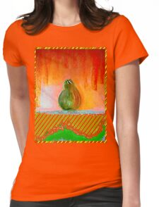 """Enhanced Pear"" Womens Fitted T-Shirt"