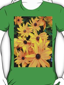 """Yellow Flowers 20"" by Chip Fatula T-Shirt"