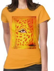 """Tiger Woman"" Womens Fitted T-Shirt"