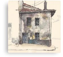 House in Guardo Canvas Print
