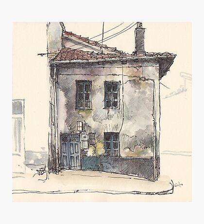 House in Guardo Photographic Print