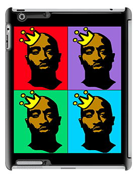 HIP-HOP ICONS: TUPAC SHAKUR (4-COLOR) by SOL  SKETCHES™
