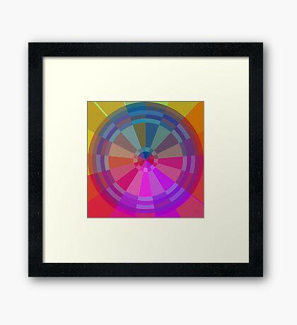 Color Pie Number Two Framed Print
