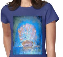 """Beths Flowers 1""  Womens Fitted T-Shirt"