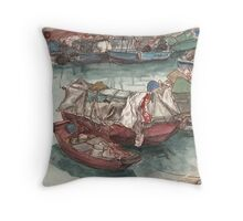 Yau Tong Throw Pillow