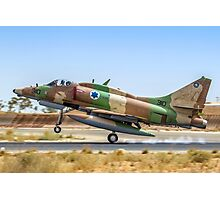 Israeli Air Force (IAF) Mcdonnell-Douglas A-4 Skyhawk Photographic Print