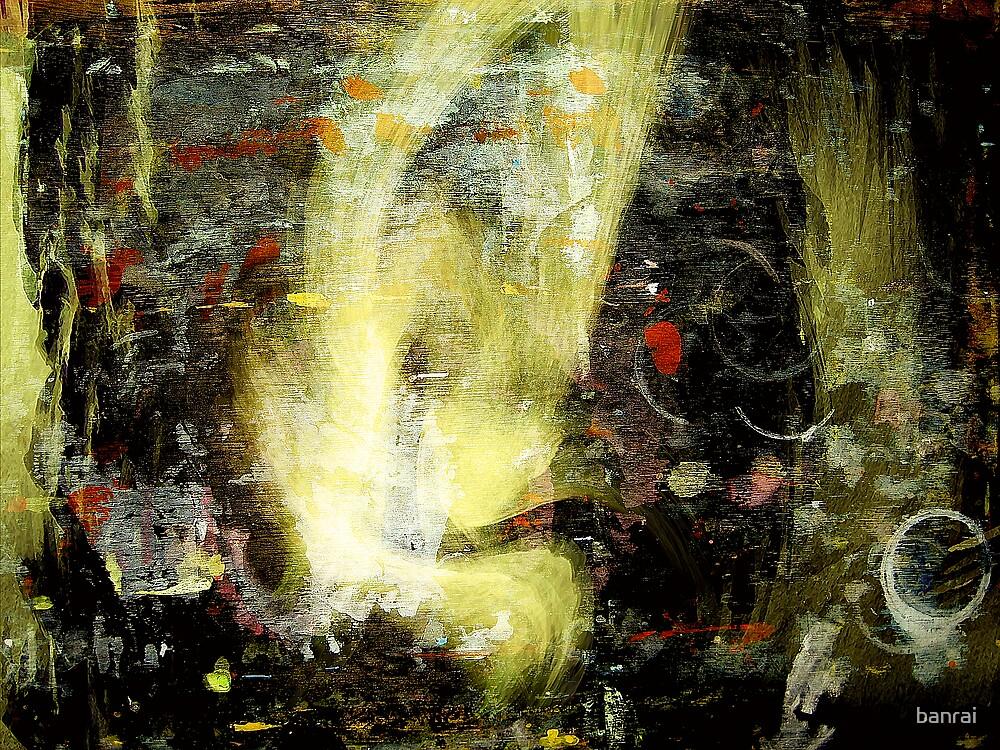 yellow face apparition... by banrai
