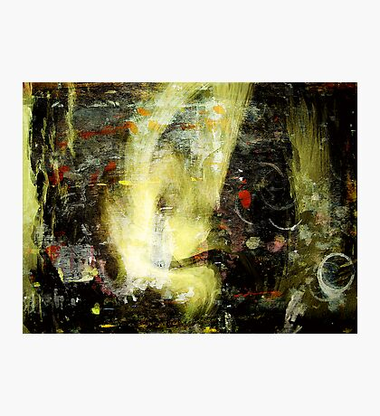 yellow face apparition... Photographic Print