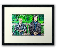 The Best Man Framed Print