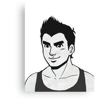 Game Face Ver. 1 Canvas Print