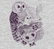Owl Movement Kids Tee
