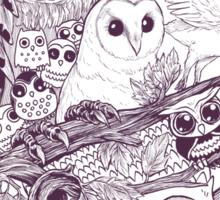 Owl Movement Sticker