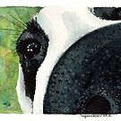 """Doggy Nose (""""Vera"""" the dog) by Lynn Oliver"""