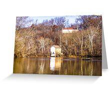 Potomac Pumphouse Greeting Card