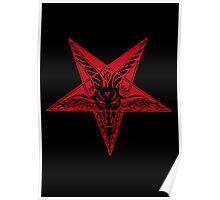 Satanic goat Poster
