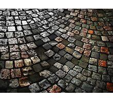 Cobblestones Photographic Print