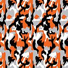 Orange Camoflauge by CheefEA