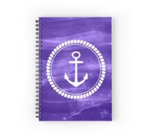 Magical Sea Anchor 3 Spiral Notebook