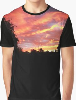 Cotton Candy Sky Graphic T-Shirt