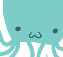 Princess Octopus Sticker