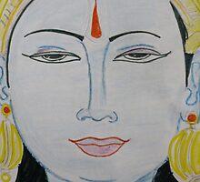 lord vishnu by shinygal
