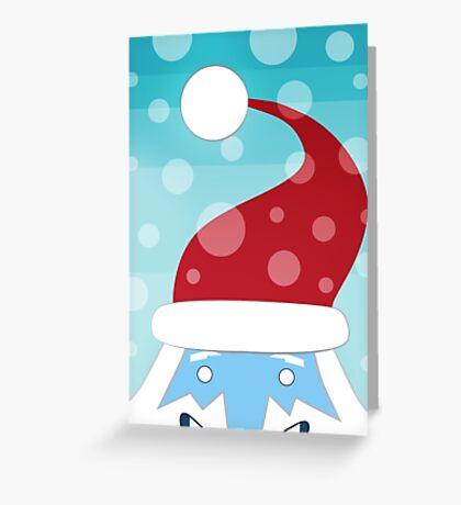 Adventure Time Ice Kind Santa Greeting Card