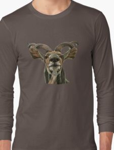 Greater African Kudu Long Sleeve T-Shirt