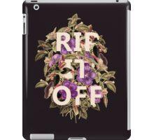 rip offf iPad Case/Skin