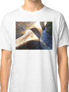 Flow Form Fountain, Rudolf Steiner College Classic T-Shirt