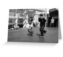 Skate Cam  Greeting Card