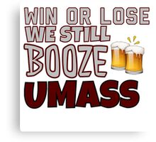 Win or Lose Umass Canvas Print