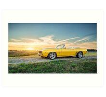 1969 Chevrolet Camaro SS Art Print