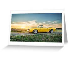 1969 Chevrolet Camaro SS Greeting Card