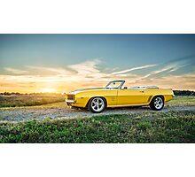 1969 Chevrolet Camaro SS Photographic Print