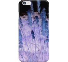 Blue And Purple Rushes iPhone Case/Skin
