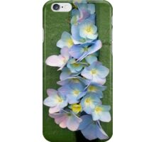 Blue And Yellow Hydrangea Bouquet iPhone Case/Skin